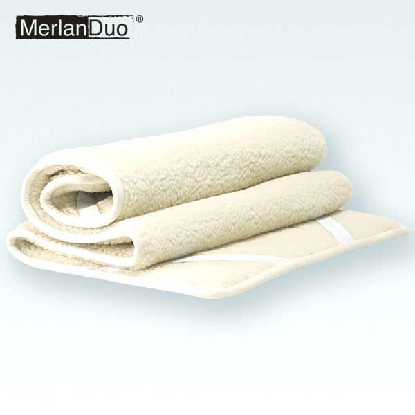 wollen onderdeken matrasbeschermer merino schapenwol
